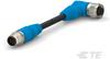 M8/M12 Cable Assemblies -- T4162114008-006 -Image