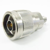 2.92mm Female (Jack) to N Male (Plug) Adapter, 1.15 VSWR -- SM3135 - Image