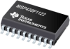 MSP430F1122 16-bit Ultra-Low-Power Microcontroller, 4kB Flash, 256B RAM, 10 bit ADC -- MSP430F1122IDW - Image