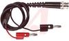 Cable assy; BNC to Banana jack pair; 24inch length -- 70198538