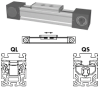 Belt Driven Linear Actuator -- QLZ 60 - Image