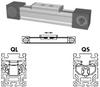 Belt Driven Linear Actuator -- QSZ 80