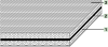 S Tangential/flat Polyamide Power Transmission Belt -- S-250HR - Image