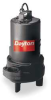 Pump,Sewage,1 HP -- 4HU84