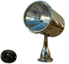 Marine Searchlight with motorized remote control with 7 inch lens, wireless and wired remote control -- RCL600