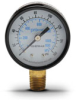 0-160 psi / 0-1100 kPa Pressure Gauge with 2.0 inch mechanical dial -- G20-BD160-4LB