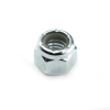 #4-40 Nylon Insert Lock Nut, Zinc, NM Thin Pattern -- NG2NTM00440Z