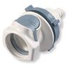 Coupling Body, 1/2 Hose Barb Non-Valved Panel Mount -- HFC16835