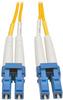 Duplex Singlemode 8.3/125 Fiber Patch Cable (LC/LC), 30 m (100 ft.) -- N370-30M - Image