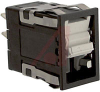 Switch, Rocker, 2 Position, MAINT/MAINT, NON-Lighted -- 70118538 - Image