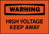 Safety Sign -- 86H6264