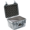 Pelican 1300 Case with Foam - Silver   SPECIAL PRICE IN CART -- PEL-1300-000-180 -Image