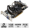 MSI R6850 Cyclone PE/OC Radeon HD 6850 Video Card - 1GB, GDD -- R6850 Cyclone PE/OC