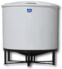2610 Gallon 45 Degree Open Top Cone Bottom Tank w/bolt-on top -- A-OC2610-86