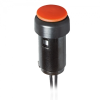 Micro Push Button Switch With Latching Detent -- 145MT00D - Image