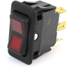 EATON EURO-SR Rocker Switch, SPDT, On-Off-On, Lit, 8007K20N314V22 -- 43106 - Image