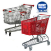 Plastic & Steel Shopping Cart