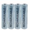 Lenmar AAA 4 Pack 1000mAh Ni-MH Batteries -- PRO410B