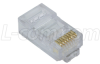 Modular Plug, RJ45(8x8)High Performance Cat5/5E, Pkg/50 -- TSP4088C5