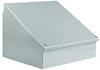 12 x 12 x 9 inch (HxWxD) NEMA 12 operator console, desktop or ... -- WC12C12 - Image