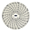C308 - Chart Paper for Super-Compact Temperature Chart Recorders, 76 to 122F, 7 day -- GO-80011-80