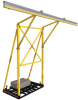 DBI-SALA FlexiGuard Yellow Counterweighted Fall Arrest System - 648250-16010 -- 648250-16010