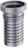 Sanitary Female I-Line x Hose Shank Crimp Fitting -- FILS-SS Series -Image