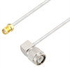 SMA Female to TNC Male Right Angle Cable Assembly using LC085TB Coax, 2 FT -- LCCA30563-FT2 -Image