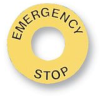 Emergency Stop Pushbutton Switch -- 09WX7410