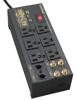 6 Outlet, 6ft Cord, 2850 Joules, 2-line Coaxial, 1-line Tel/modem, All-metal Housing Isobar Surge Suppressor -- ISOBAR6DBS