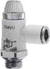 Composite Right Angle Flow Control Valve -- TMVU 974-1/4-6 -- View Larger Image