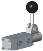 Lever Operated (Detented) Spring Return Spool Valves -- View Larger Image