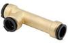 Quick-Connect Slip Repair Tee - Lead Free Brass -- LF4732