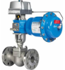 Rotary Globe Valves -- View Larger Image