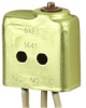 XE Series Environmentally Sealed Basic Switch, Single Pole Double Throw Circuitry, 7 A at 115 Vac, Pin Plunger Actuator, Leadwire Termination -- 5XE1 -Image