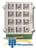 Ceeco Alphanumeric Keypad with Braille Buttons -- 705-200 -- View Larger Image