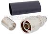 75 Ohm N Male Connector Crimp/Non-Solder Contact Attachment For LMR-400-75 Cable -- EZ-400-NM-75 -Image