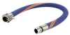 1/2X10 Ft PTFE CHEMICAL HOSE CPLD SS C+E -- CHT050-10CE-G - Image