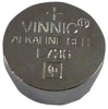 ALKALINE BATTERY, 1.5V, COIN CELL -- 20C9183 - Image