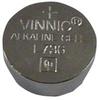 ALKALINE BATTERY, 1.5V, COIN CELL -- 20C9183 - Image
