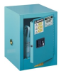 Justrite Chemcor 4 gal Blue Hazardous Material Storage Cabinet - 17 in Width - 22 in Height - 697841-11207 -- 697841-11207