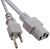 Power, Line Cables and Extension Cords -- Q1049-ND -Image