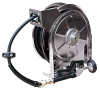 Spring Driven Stainless Steel Pre-Rinse Water Hose Reel Series 5000 -- 5635 OLSSW5