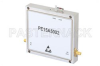 45 dB Gain, 10 Watt Psat, 3.1 GHz to 3.5 GHz, High Power GaAs Amplifier, SMA Input, SMA Output, 4 dB NF -- PE15A5002 -Image
