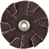 Merit AO Coarse Grit Overlap Slotted Disc -- 8834184066 - Image