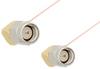 SMA Male Right Angle to SMA Male Right Angle Cable 60 Inch Length Using PE-020SR Coax -- PE34211-60 -Image