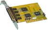 4 Port Serial PCI (16650) (4x9pin) -- 223E