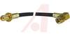 SMA CABLE ASSEMBLY, STRAIGHT BULKHEAD JACK TO R/A PLUG, RG-174/U, 12 INCHES -- 70032271