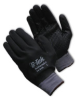 G-Tek(R) MaxiFlex Plus(TM) III, Nitrile Dotted Palm, Fully Black Micro-Foam Nitrile Coated, Gray Seamless Knit Nylon Liner, Medium -- 616314-11153