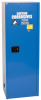 Eagle 24 gal Blue Hazardous Material Storage Cabinet - 23 in Width - 65 in Height - Bench Top - 048441-00105 -- 048441-00105